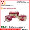 Низкий поставщик MOQ Китая делает перемещением подгонянным PU косметический лотос случая мешка напечатанный красивейший
