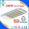 Luz de calle promocional caliente de Philips 200W LED de la Navidad IP67