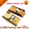 Movimentações de madeira do flash do USB do volume da venda por atacado do preço de fábrica