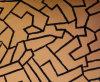 Het bijeenkomen Pu Synthetic Leather voor Making Bolster&Cushion (U5E466C32)