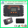 10A 12/24V Solar Charge Controller mit LCD Display (QW-1410USBB)
