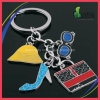Fabbrica Supply Fashion Element Shoes Glass Bag Key Chain per Lady