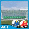 Asientos portables del blanqueador del cobertizo del jugador de fútbol para el entrenamiento