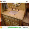 Marfil crema Marble Little Vanity Top per Home Bathroom