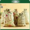 Sacchetti su misura del regalo del Drawstring del cotone di Fashional piccoli