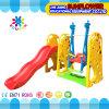 屋内運動場のキリンの形の子供のおもちゃの幼稚園の柔らかいプラスチックスライドの運動場(XYH12066-2)