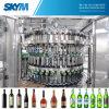 De automatische Was die van het Water & van de Wijn van de Fles van het Glas en het Afdekken Machine vullen