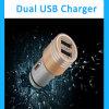 Il nuovo arrivo personalizza il mini caricatore universale variopinto dell'automobile, caricatore doppio dell'automobile del USB per il telefono mobile