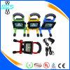 Color impermeable del negro del rojo azul del amarillo de la lámpara del trabajo de la carga del USB