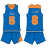 Sylvester Johnson Jersey Design di Basketball Uniforms per Men