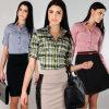 Chemises formelles de taille de l'usager des femmes dernier cri (A456)