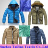 Taffeta de nylon Fabric con Waterproof y Calendered para Down Jacket