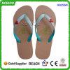 Schuhe der Dame-Chappal, Mädchen-fantastisches Körnchen-dünne Flipflops (RW27941)