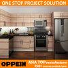 Cabina de cocina de madera de la melamina americana moderna del estilo de Oppein (OP14-M03)