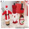 Saco vermelho do frasco de vinho da forma dos presentes relativos à promoção Eco-Friendly