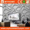 Papel pintado de papel decorativo no tejido (XD63035)