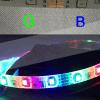 Luz do diodo emissor de luz do cabo flexível do RGB/do telecontrole 5050 de Guzhen da iluminação de tiras do cabo flexível do diodo emissor de luz