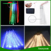 indicatori luminosi chiari solari impermeabili della decorazione di cerimonia nuziale del biglietto di S. Valentino di natale dei tubi LED della pioggia dell'acquazzone di meteora di 10PCS/Set 360 LED