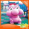 Matériel en plastique de décoration de poupée de cour de jeu rose de dessin animé à vendre