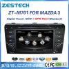 Navegación audio del coche DVD Rideo GPS de Zestech para Mazda 3 2004-2009 piezas de automóvil
