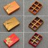 Feito em umas caixas feitas sob encomenda do chocolate do Praline do cartão da fábrica de China
