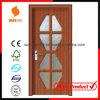 Nieuwe Design van pvc Wood Door met Windows