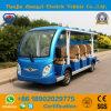 De nieuwe Ontworpen Bus van de Pendel van het Sightseeing van 14 Zetels Elektrische voor Toevlucht