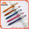 Preiswertes Promotion Plastic Logo Ball Pen für Advertizing (BP0208)