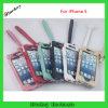 Bolsa fresca del cuero del color para el iPhone 5 con la cadena dominante (BK-CP012)