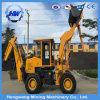 Excavador del cargador hidráulico de la retroexcavadora de las ruedas pequeño para la venta