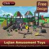 TUV Small Design for Kids niños de plástico al aire libre Zona de juegos (X1284-1)