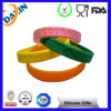 Bracelet courant de Wristband du football de base-ball de basket-ball en caoutchouc de silicone