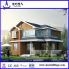 Chalet de acero ligero, casa ligera de la estructura de acero, chalet de la casa