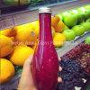 Покрашенная бутылка сока пластичная с бутылкой питьевой воды напитка любимчика крышки винта для упаковки еды