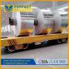 Carrello piano di trasporto di alluminio della bobina delle bobine elettriche delle maniglie del carrello della bobina