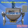 Bouilloire revêtue électrique avec le mélangeur (50-1000L)