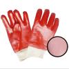 Ровные законченный перчатки покрытия PVC