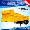 40FT Flachbett-Ladung-Vorhang-Seiten-abnehmbarer seitliche Wand-halb Schlussteil
