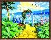 Pinturas al óleo de RoHS Modern Calligraphy del CE de Number para Home Decoration Gx6155