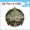 3D Military Coin mit Enamel in Gold Plated, Challenge Coin