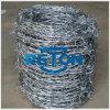 Pretection Galvanziedの鉄の有刺鉄線
