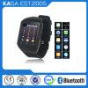 スマートなクォードバンドタッチ画面の移動式携帯電話エムピー・スリーの腕時計