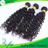 Девственницы волны верхнего качества парики 100% черных волос глубокой естественные