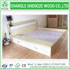 新しいデザイン寝室のメラミン木のベッド
