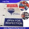 Artículo indicador 100% de Polyester Fireproof Flag, Sport Flag, Logo Flag, Company