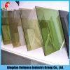6mmの青銅色の/Green/Blue/Gray /Silver /Pinkのカラーによって染められるフロートガラス
