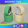 China-Hersteller-grüne Farben-Krepp-Papier-selbsthaftendes Kreppband