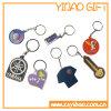 사업 선물 (YB-PK-02)를 위한 주문 연약한 PVC Keychain