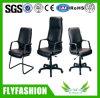 Plutônio usado escritório e cadeira genuína dos visitantes da cadeira de couro (OC-59)