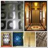 上塗を施してあるエレベーターのドアのステンレス鋼シートをエッチングする201 304カラー